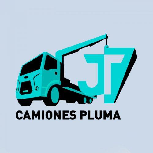Logotipo - Camiones Pluma