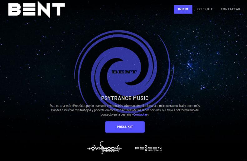 Web - Bent Psy Music / Dj Productor