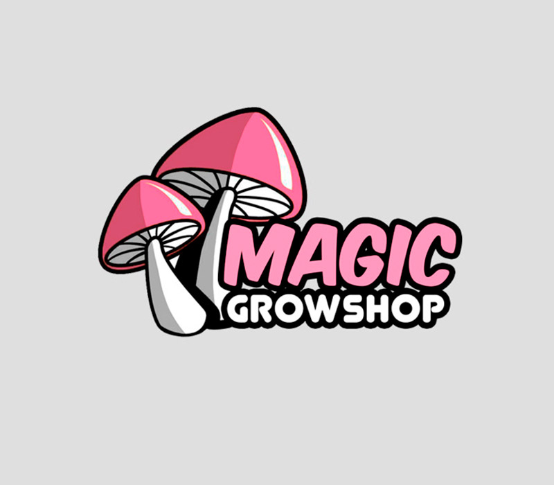 Logotipo - Magic Growshop