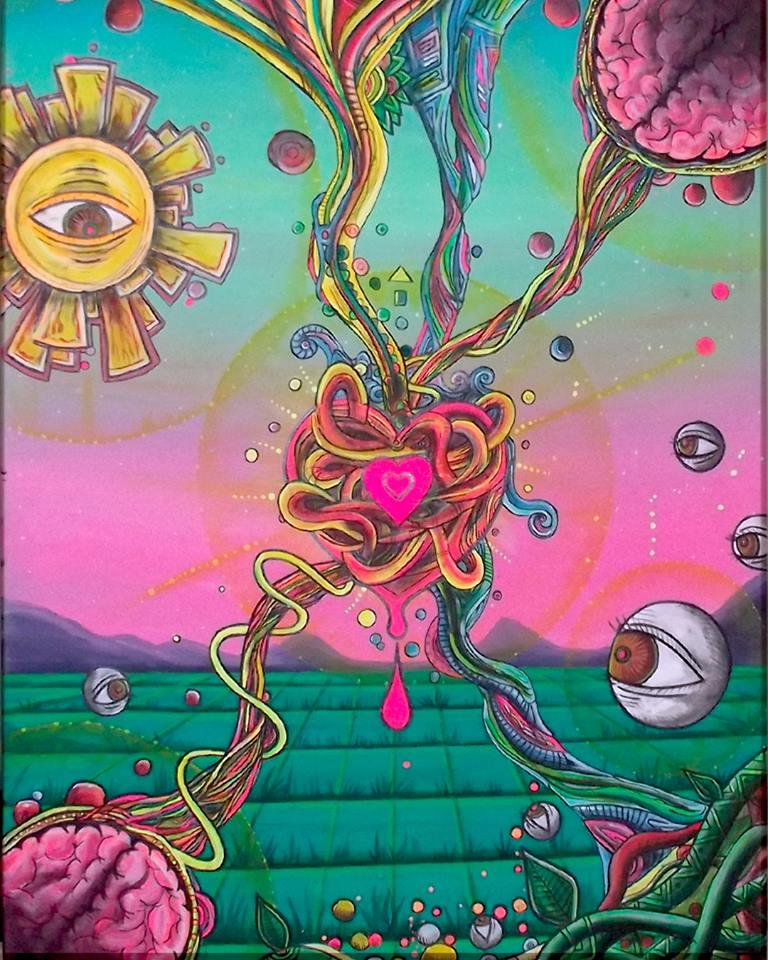 Cuadro fluor - El poder del Amor