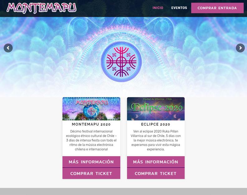 Diseño web - Montemapu