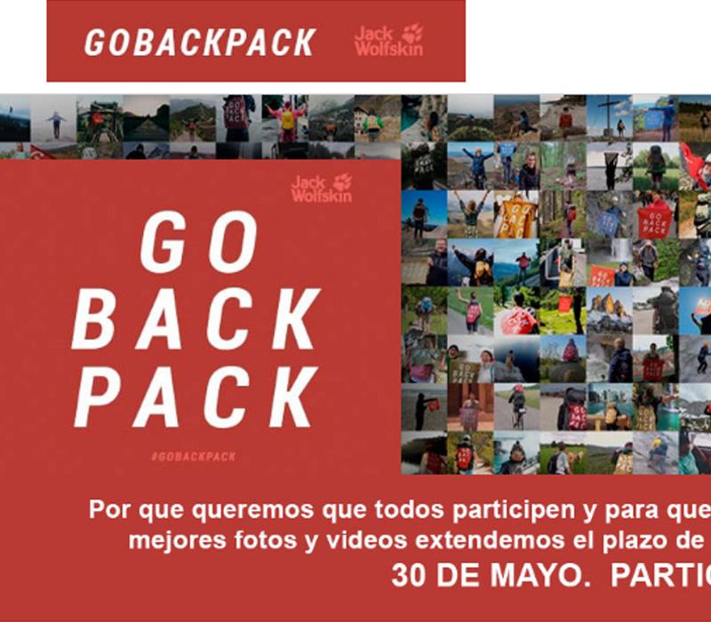 Go back pack