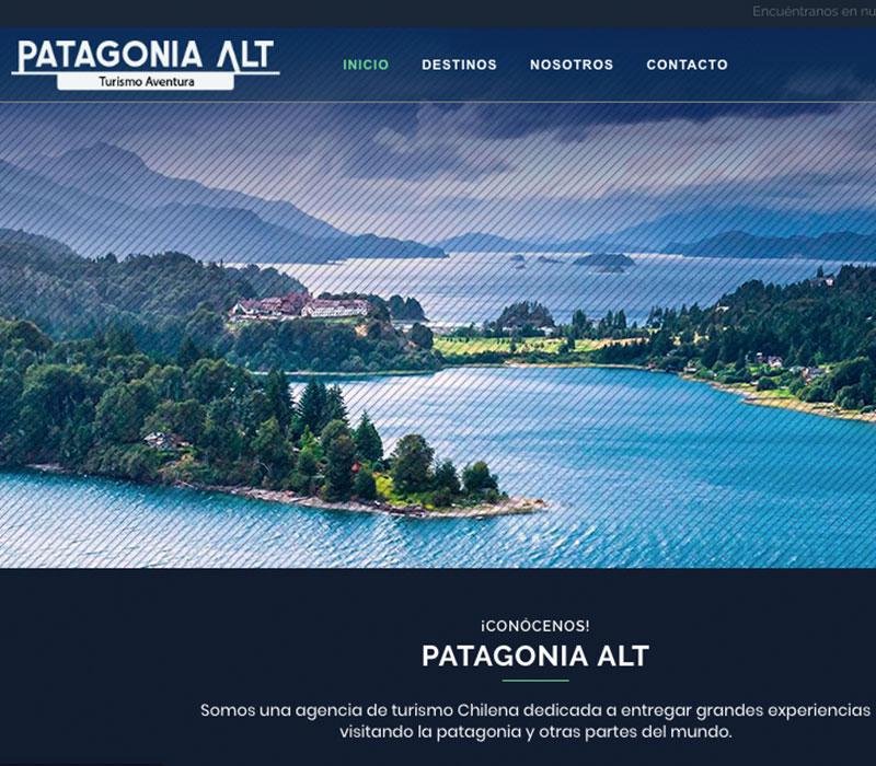 Patagonia - Alt / Diseño web