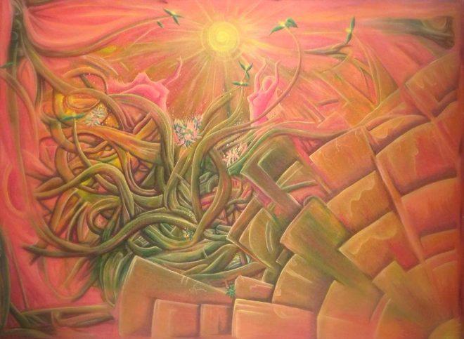 Pintura - Danza de las locas
